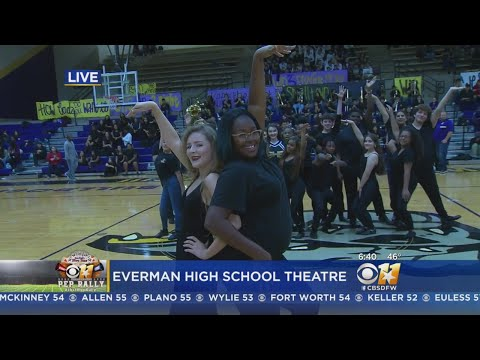 CBS 11 Pep Rally: Everman High School Theatre Department