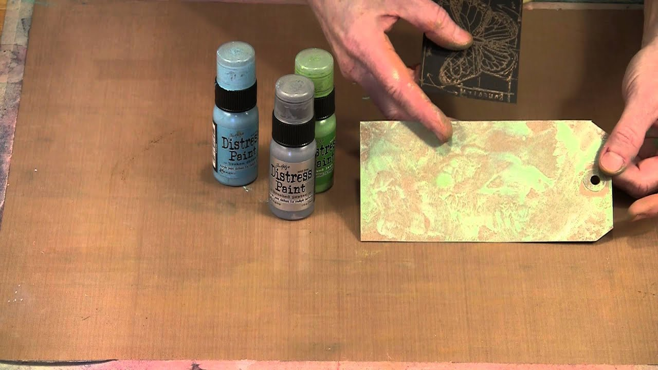 Tim Holtz Metallic Distress Paints by Joggles.com