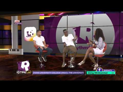 Shatta Wale on  Rythmzlive with Jason ela and Regina van helvert full interview