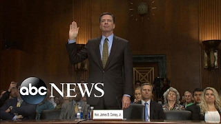 Former FBI Director Comey prepares for public testimony