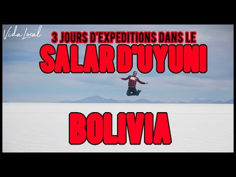 CUMBIA DE HOY - LE SALAR D'UYUNI !!
