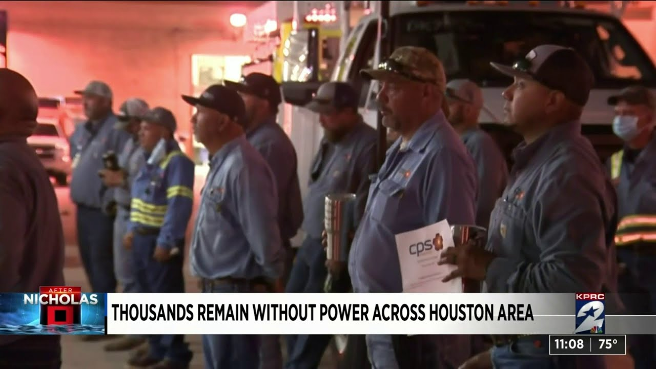 Houston weather: Thousands without power as severe ...