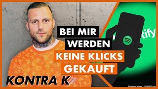 KONTRA K Interview: Gekaufte Klicks, Kampfsport, Umgang mit Geld, sein Tiger