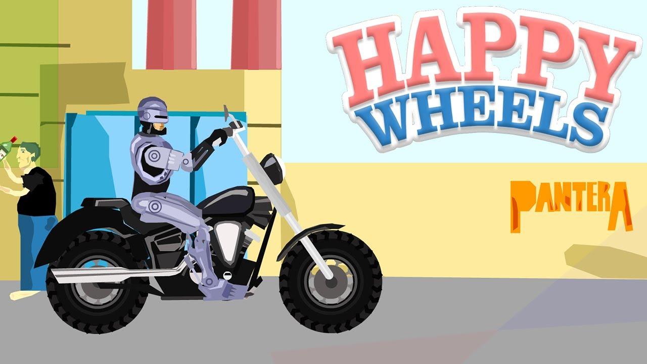 Happy Wheels Robocop Youtube