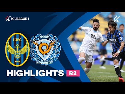 Incheon Daegu Goals And Highlights