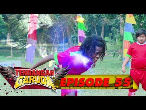 WOW!! Titus Merobek Robek Gawang Dragon FC dengan Tendangan Elang  - Tendangan Garuda Eps 55