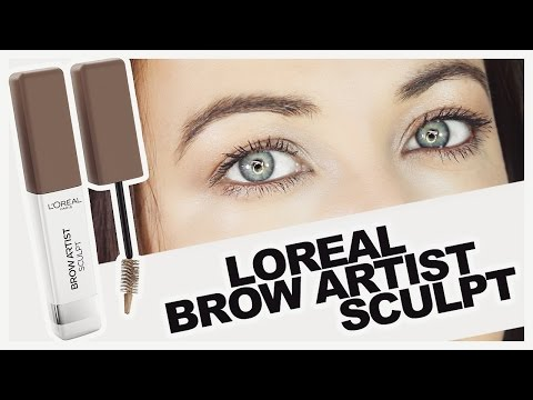 fabe1ec06a1 Loreal Brow Artist Sculpt - Review & Demo - YouTube