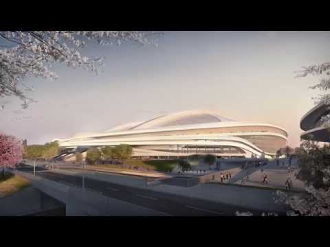 ZHA New National Stadium Video Presentation
