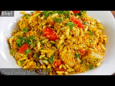 How To Make Bhel | EasyCookingWithShilpa