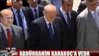 Abdürrahim Karakoç'a Veda