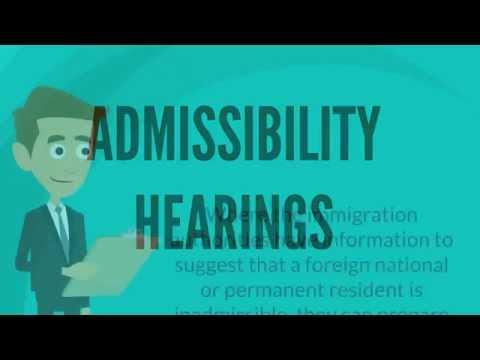 Admissibility Hearings - Matthew Jeffery, Toronto Immigration Lawyer