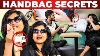 Only 10 Rs in Gayathri Raghuram's HANDBAG | What's Inside the Handbag | Bigg Boss