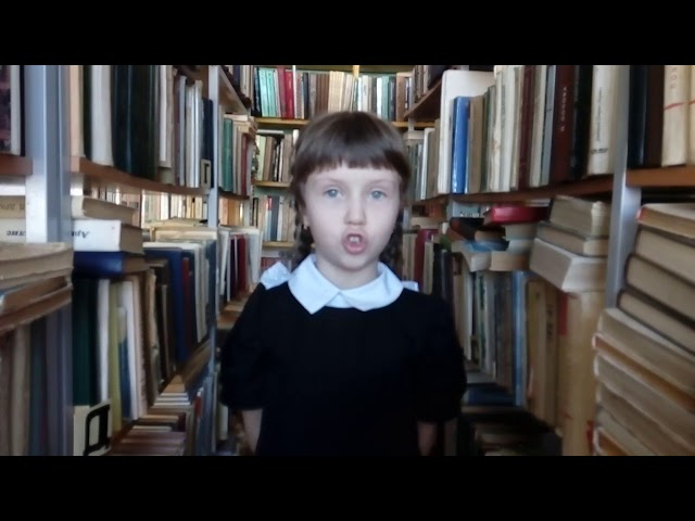 Изображение предпросмотра прочтения – АнгелинаРябышева читает произведение «Бабушка» М.И.Цветаевой