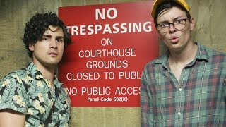 Trespassing with Anthony Padilla.