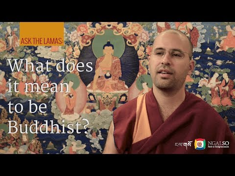 What does it mean to be Buddhist? Subtitles: PT-IT-EN-NL