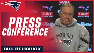 Bill Belichick on preparing for Derek Anderson and the Buffalo Bills