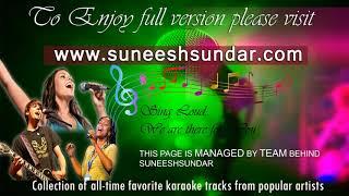 Podipaarana theerane karaoke with chorus synced lyrics