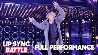 """kathy bates fly performance of """"hip hop hooray"""" by naughty by nature lip sync battle"""
