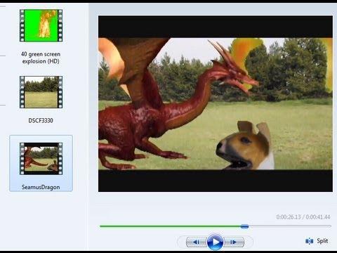 green screen effect in windows movie maker 60 youtube