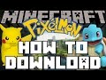 minecraft pixelmon how to download play