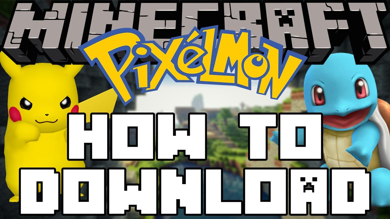 minecraft pixelmon how to download amp play youtube