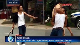 csgt no sung khong che con do cam dao doa chem