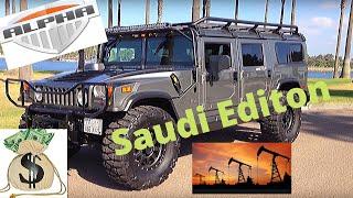 hummer h1 alpha saudi edition