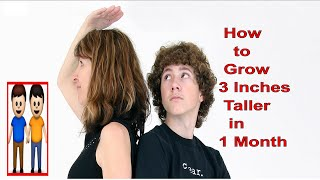 top 10 ways how to grow 3 inches taller in 1 month   increase height