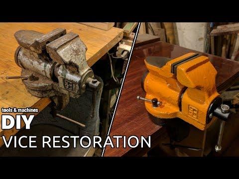 Old vise restoration