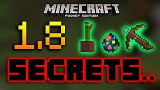 Minecraft PE 1.8 Secrets (16 total)