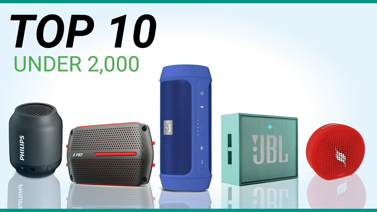 Top 5 Best Bluetooth Speakers Under 10000 In India Youtube