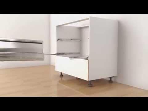 Монтаж TIP-ON BLUMOTION для TANDEMBOX Blum - YouTube
