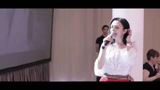 Молдавская свадьба с живой музыкой и песнями - ведущая Вероника