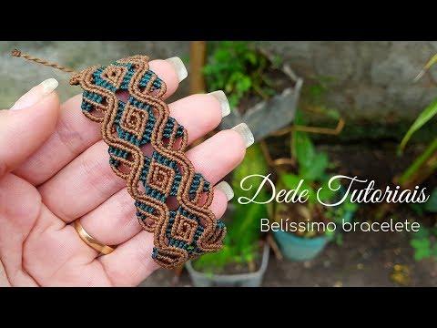 Dede Tutoriais | Como Fazer Um Bracelete #163