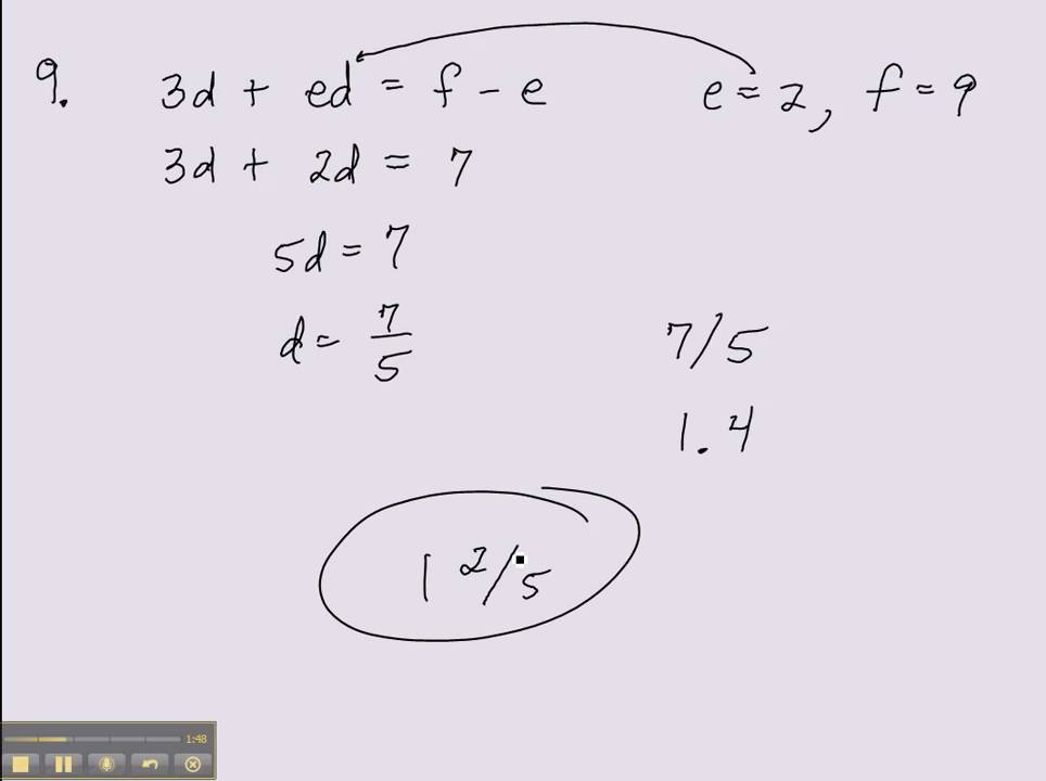 Kaplan 12 Practice Tests for the SAT Test 1 Section 5 #7
