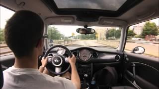 Mini Cooper S City Speeding 2