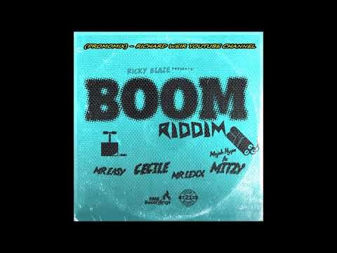BOOM RIDDIM (Mix-Sep 2017) RICKY BLAZE RECORDS