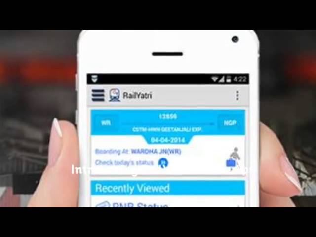 Commuter Friendly RailYatri Android App - YouTube