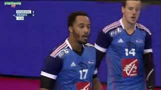 Danemark VS France  Handball Golden League 2015 2016 1ère manche