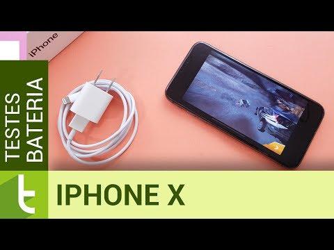 Autonomia Do Apple IPhone X   Teste De Bateria Oficial Do TudoCelular