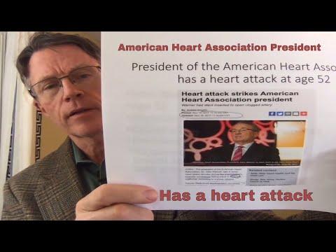 American Heart Association President has a Heart Attack