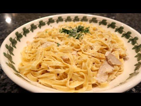 Fettuccine Alfredo with Chicken Recipe
