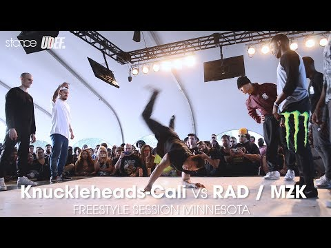 Knuckleheads-Cali vs RAD x MZK [finals] // .stance // Freestyle Session Minnesota 2017 at Soundset