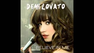 Demi Lovato - Believe In Me Karaoke / Instrumental with backing vocals and lyrics