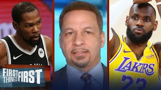I agree with Pippen, KD hasn't surpassed LeBron as NBA's best — Broussard | NBA | FIRST THINGS FIRST
