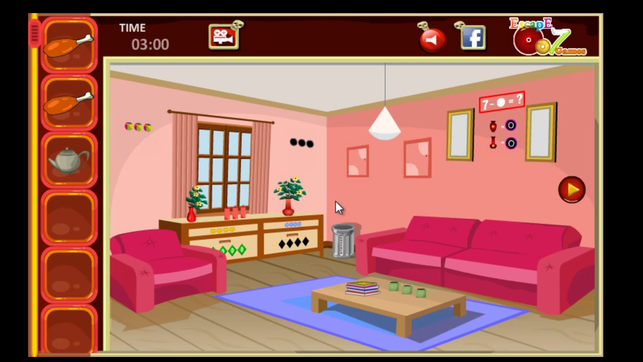 Pink Foyer Room Escape : Thanksgiving pink room escape games youtube