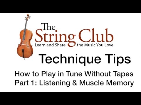 How to Play in Tune Without Fingerboard Tapes  For Violin