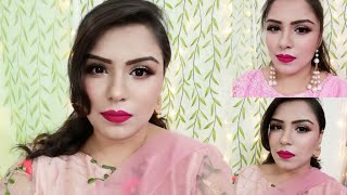 Eid makeup|soft makeup for eid|makeup karne ka tarika|makeup tutorial in hindi|afsha aarzu