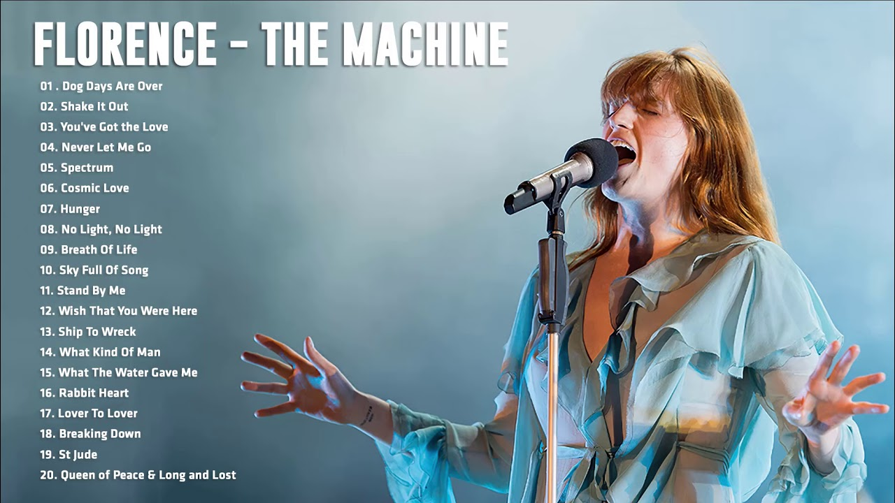 Download Florence - T. Machine Greatest Hits Full Album - Best songs of Florence - T. Machine