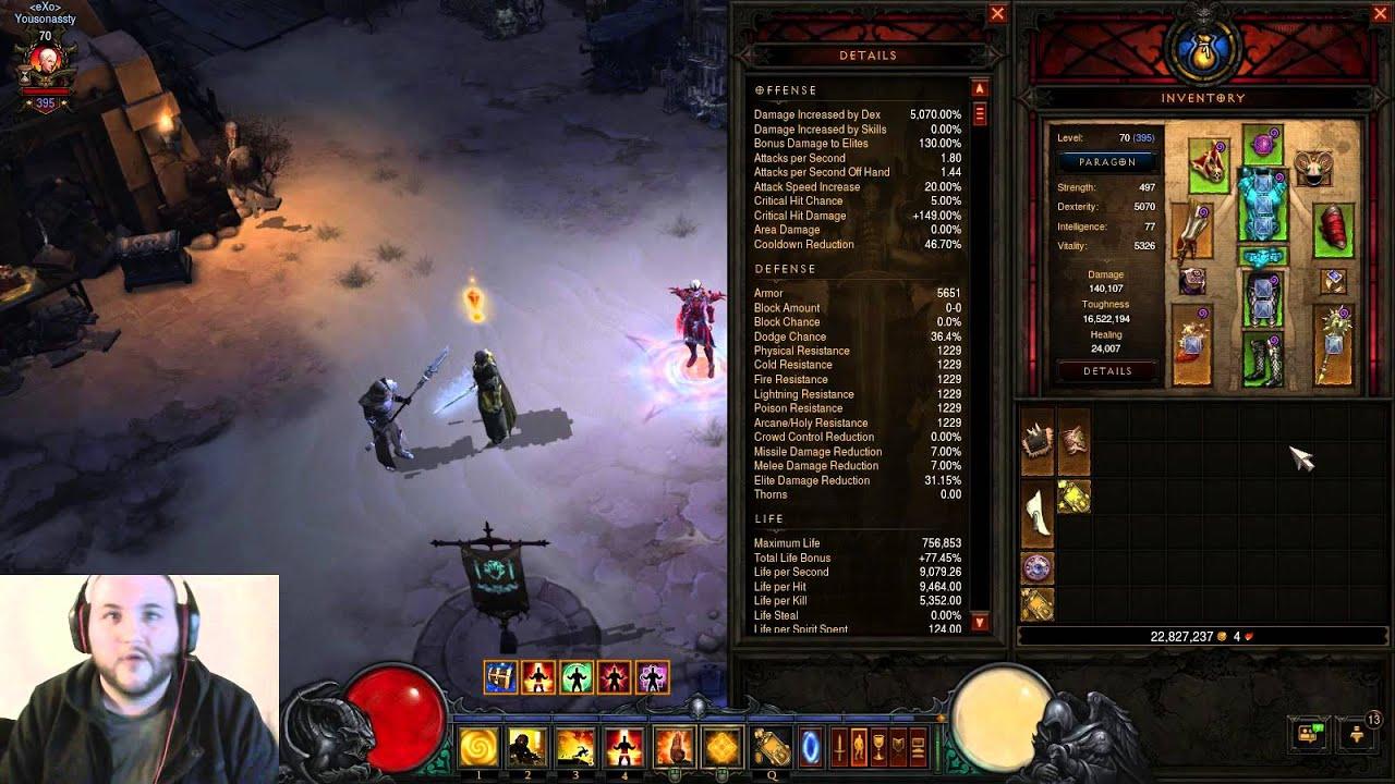 Best Monk Tank Build Diablo